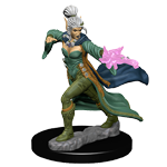 Pathfinder Deep Cuts Unpainted Miniatures: Elf Female Sorcerer