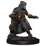 Pathfinder Deep Cuts Unpainted Miniatures: Human Male Rogue
