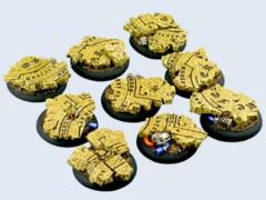 Temple Bases, Round 30mm (5)