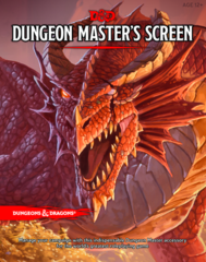 Dungeons and Dragons RPG 5th Edition: Dungeon Master's Screen