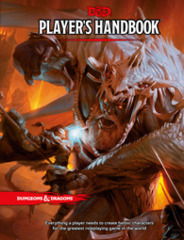 Dungeons and Dragons RPG 5th Edition:  Player's Handbook