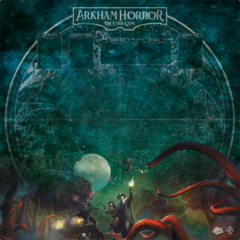Arkham Horror: The Card Game Playmat 2 Player Countless Terrors