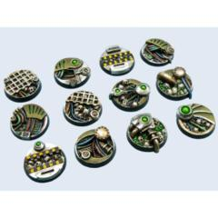 BioTech 25mm Round Bases (5)