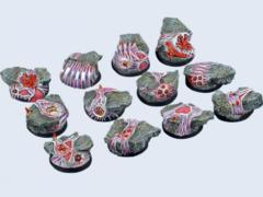 Infested 30mm Round Bases (5)