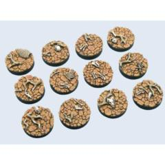 Wasteland 25mm Round Bases (5)