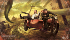 Arkham Horror: The Card Game Playmat Narrow Escape