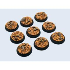Wasteland 30mm Round Bases (5)