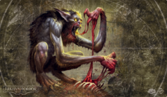 Arkham Horror: The Card Game Playmat Bloodlust