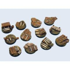 Trench 25mm Round Bases (5)