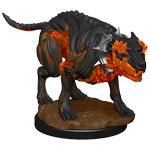 Pathfinder Deep Cuts Unpainted Miniatures: Hell Hounds