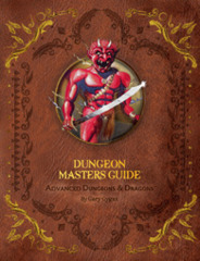 Advanced Dungeons and Dragons 1st Edition: Premium Dungeon Masters Guide Hardcover