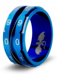 Clicking Counter Ring Blue - 10