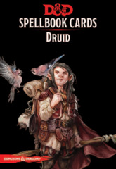 Dungeons and Dragons RPG 5th Edition: Spellbook Cards - Druid Deck