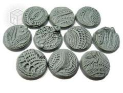 Alien Invasion 25mm Round Beveled Bases (10)