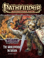 Pathfinder Adventure Path: Wrath of the Righteous Complete Set (#73-78)