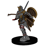 Pathfinder Deep Cuts Unpainted Miniatures: Human Female Paladin