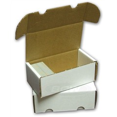 BCW Card Storage Box, 400-count corrugated cardboard (BCW)
