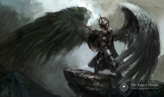 SPPM Fallen Angel Playmat (Sage's shoppe exclusive)