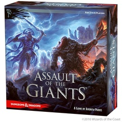 Dungeons & Dragons: Assault of the Giants Board Game