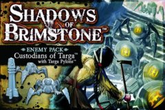 Shadows of Brimstone: Enemy Pack - Custodians of Targa with Targa Pylons