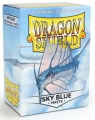 Dragon Shield, Matte Sky Blue, 100-count box