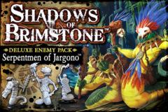 Shadows of Brimstone: Deluxe Enemy Pack - Serpentmen of Jargono