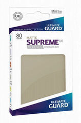 Ultimate Guard - SUPREME UX SLEEVES MATTE - Standard size - sand