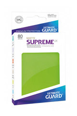 Ultimate Guard - SUPREME UX SLEEVES MATTE - Standard size -  light green