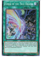 Forge of the True Dracos - BOSH-ENSE4 - Super Rare - Limited Edition