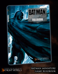 Batman Miniature Game Rulebook