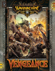 Warmachine Hordes BNIB Vengeance Hard Cover 1056