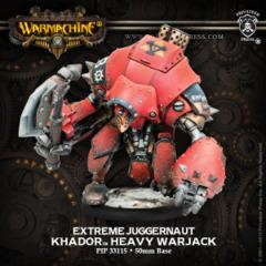 Khador Warjack Extreme Juggernaut Inc. Resin 33115
