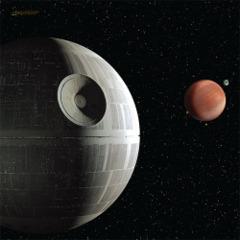 X Wing Death Star Assault Playmat