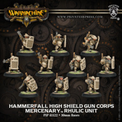 Hammerfall High Shield Gun Corps (10) REPACK 41122