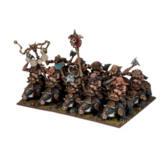 Dwarf Berserker Brock Riders Regiment (10 Figures)