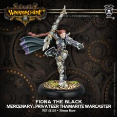 Mercenary Thamarite Warcaster Fiona the Black 41110