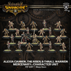 Mercenary Alexia Ciannor, Risen & Thrall Warrior (22)  REPACK 41097
