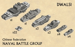 Chinese Federation Naval Battle Group DWAL51