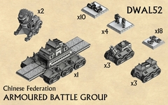 Chinese Federation Armoured Battle Group DWAL52