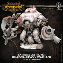 Khador Warjack Extreme Destroyer inc.Resin 33116