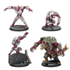 Plague Monster Booster (4 figures)