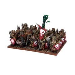 Abyssal Dwarf Immortal Guard Regiment (20 Figures)