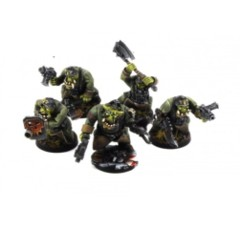 Orc Assault Greatcoat Squad KRM032