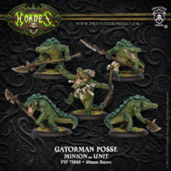 Minion Gatorman Posse (5)  PLASTIC 75048
