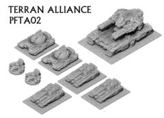 Terran Alliance Heavy Armour Helix PFTA02