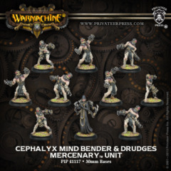 Mercenary Cephalyx Mind Bender & Drudges (10) 41117