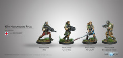 45th Highlander Rifles Galwegian