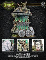 Minion Gatorman Battle Engine - Sacral vault inc resin 75054