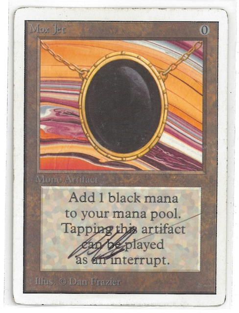 Mox Jet - Signed (Frazier)