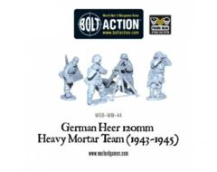 German Heer 120mm Heavy Mortar Team